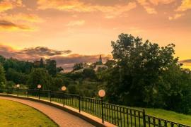 Город Владимир со стороны Патриаршего сада