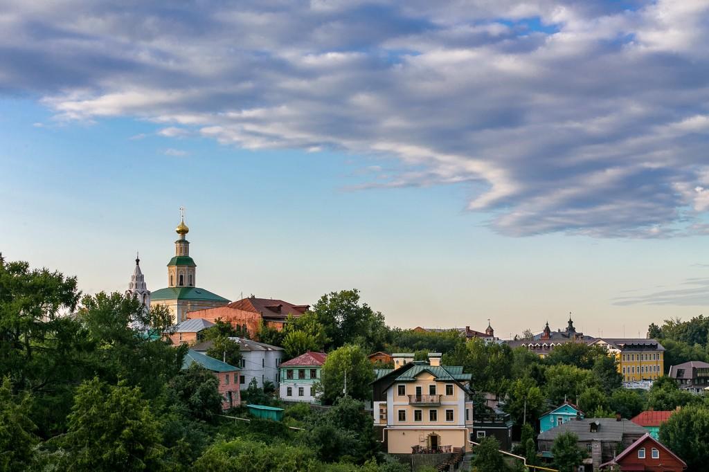 Город Владимир со стороны Патриарших садов 03