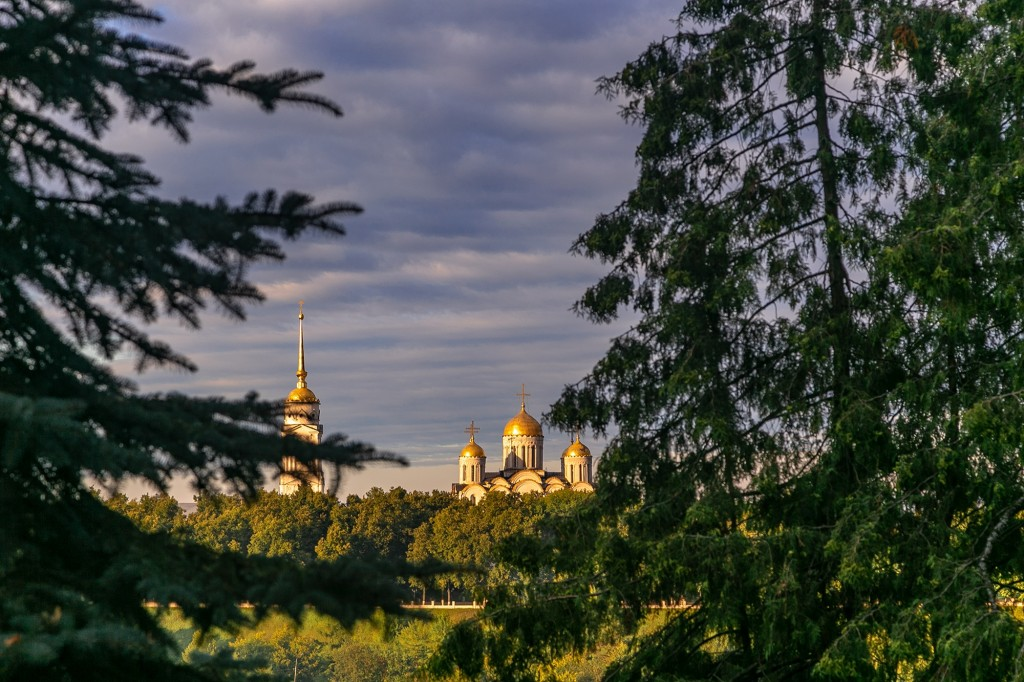 Город Владимир со стороны Патриарших садов 05