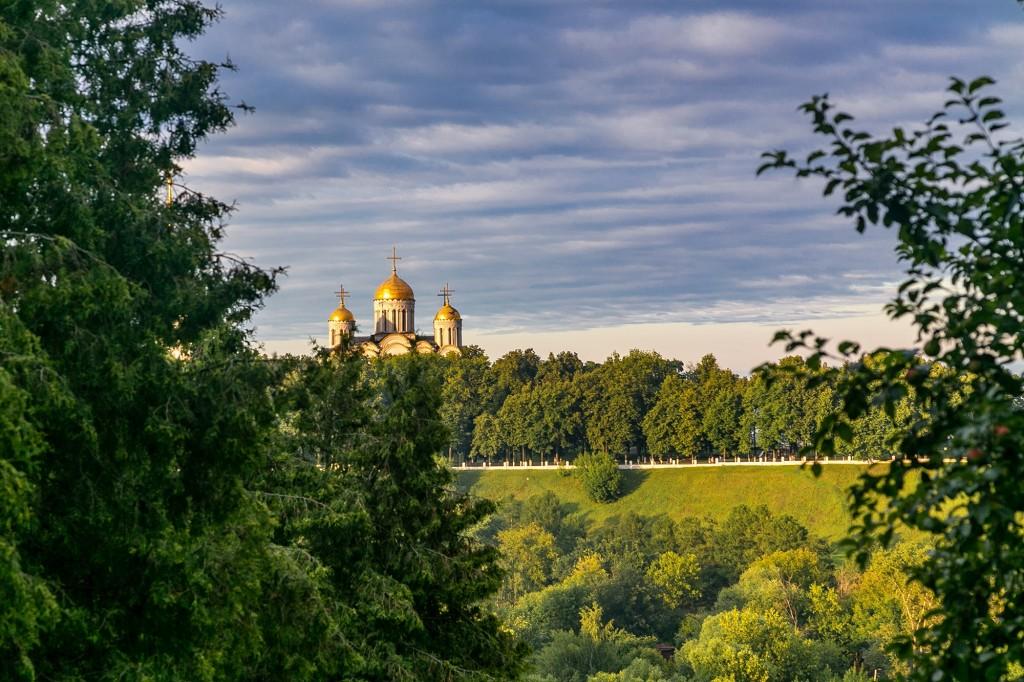 Город Владимир со стороны Патриарших садов 07
