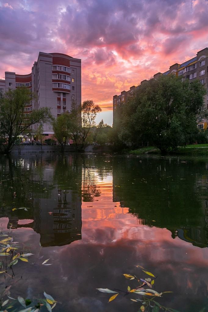 Невероятный закат во Владимире 04