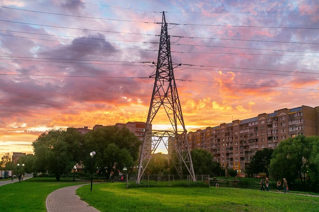 Невероятный закат во Владимире 05