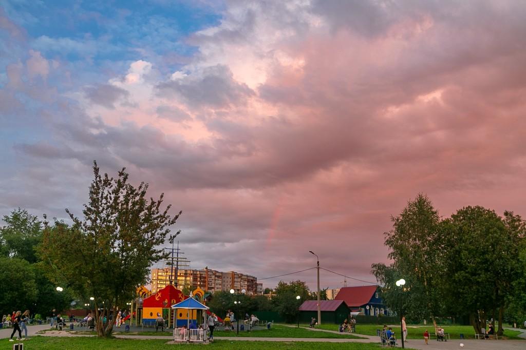 Невероятный закат во Владимире 06