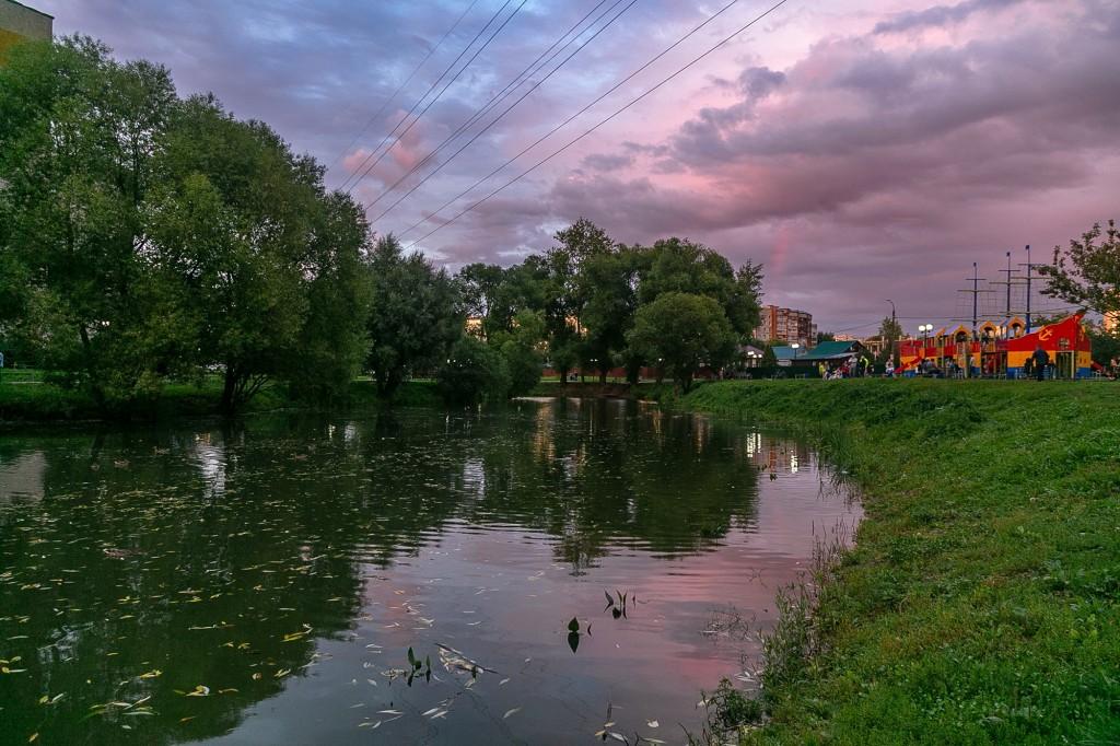 Невероятный закат во Владимире 07