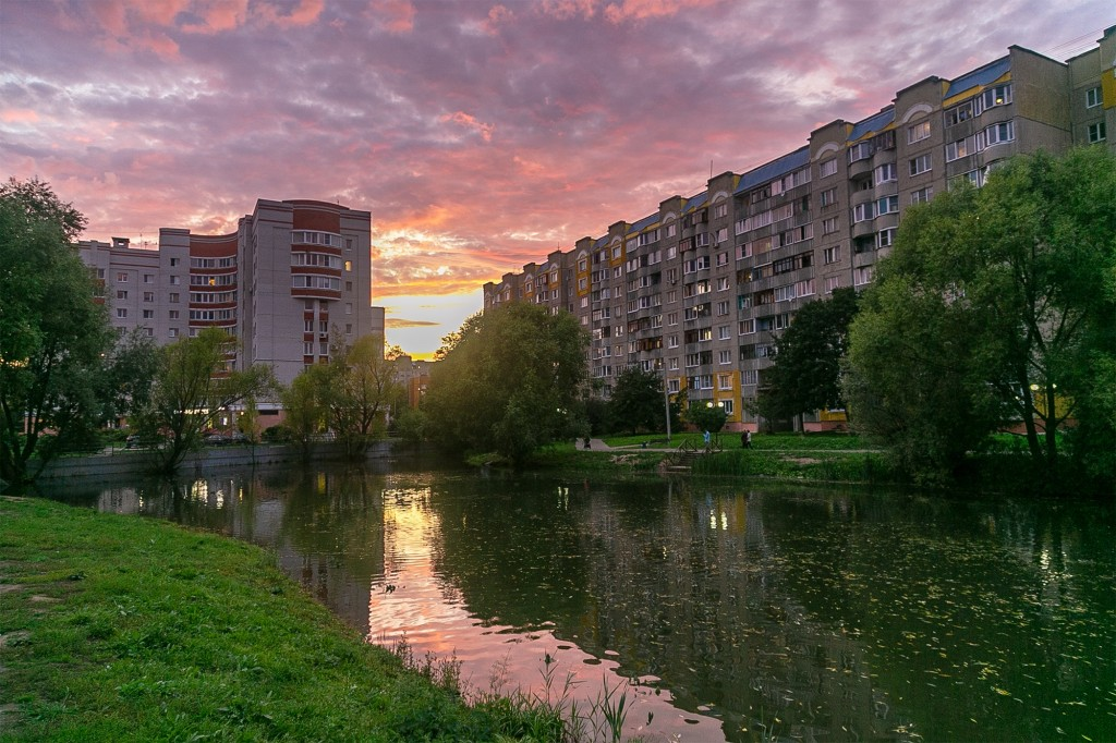 Невероятный закат во Владимире 08