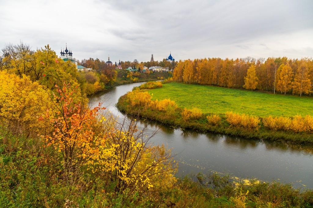 Золотая осень в Суздале 05
