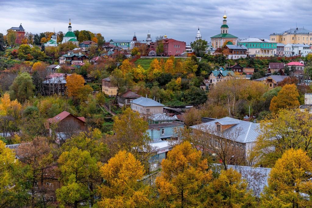 Яркий сентябрь во Владимире 2019 10