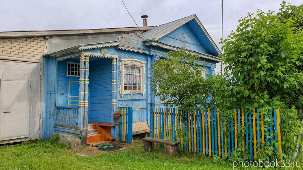 01 Деревянные дома в деревне Тургенево
