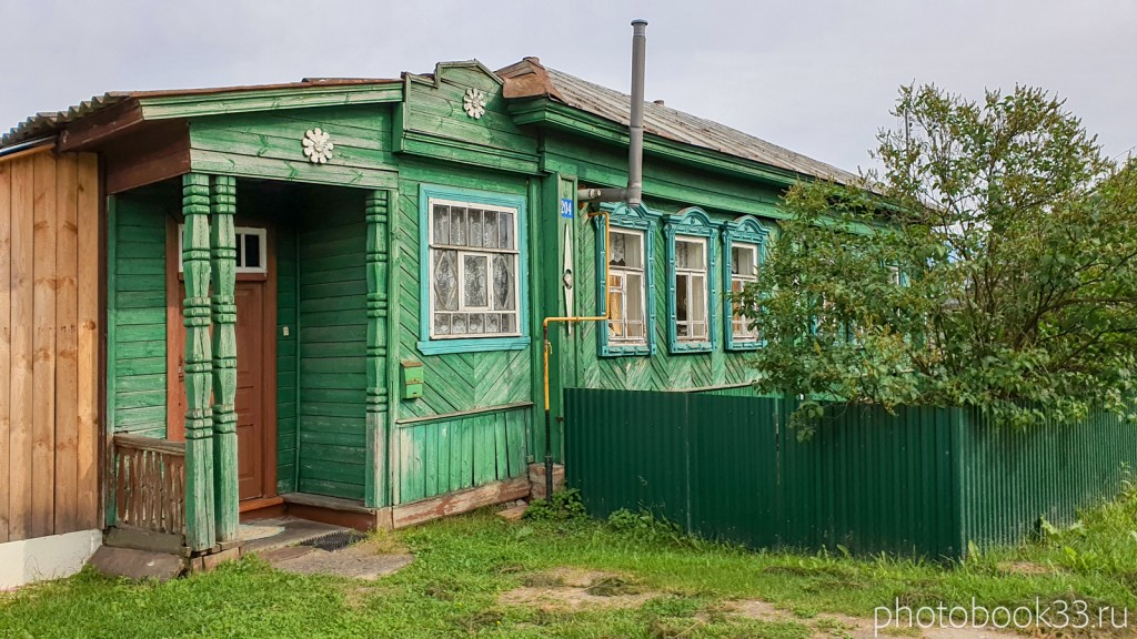 02 Деревянные дома в деревне Тургенево