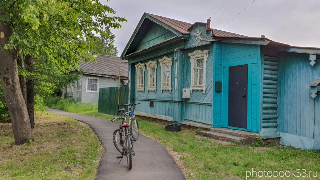 03 Деревянные дома в деревне Тургенево