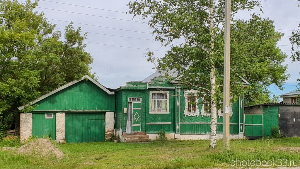 07 Деревянные дома в деревне Тургенево