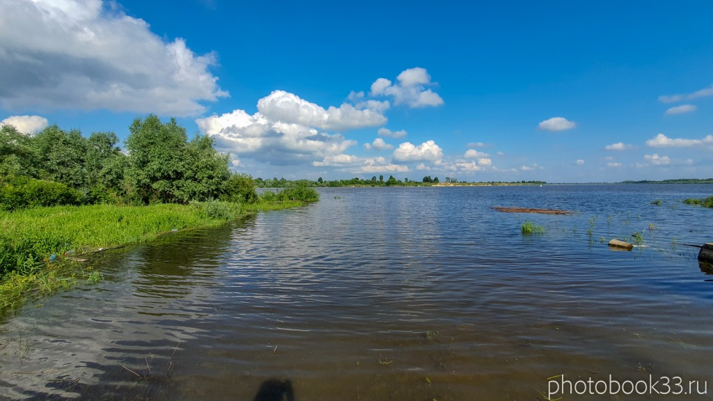08 Река Ока в селе Ляхи