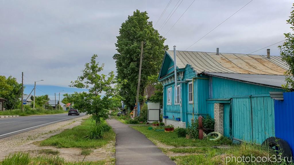 08 Тротуар в деревне Тургенево