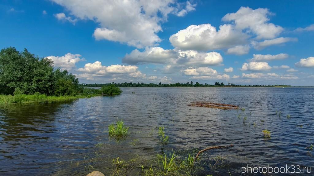 11 Река Ока в селе Ляхи