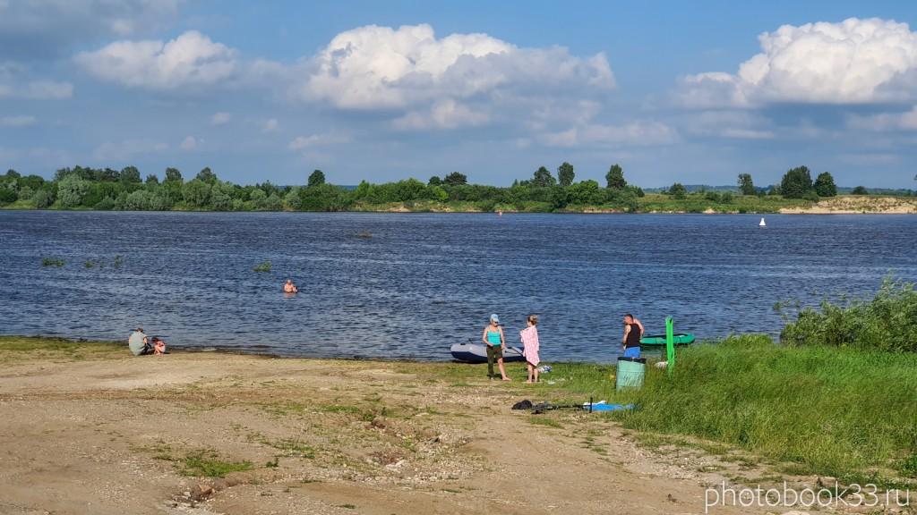 14 Пляж в селе Ляхи, Меленковский район