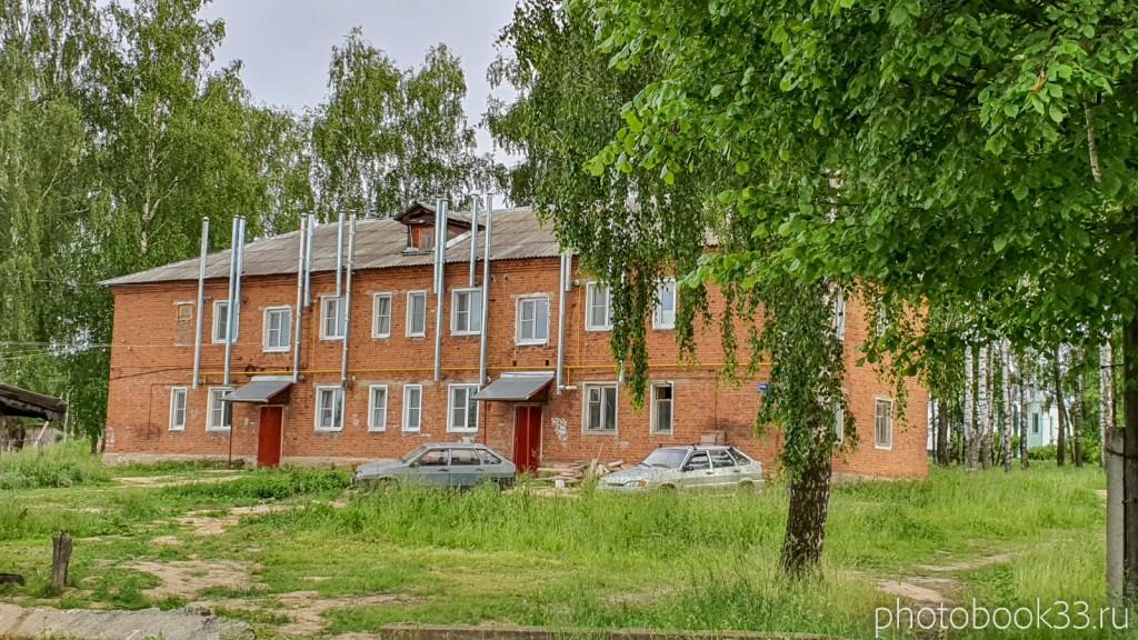 38 Двухэтажные кирпичные дома в деревне Тургенево Меленковского района