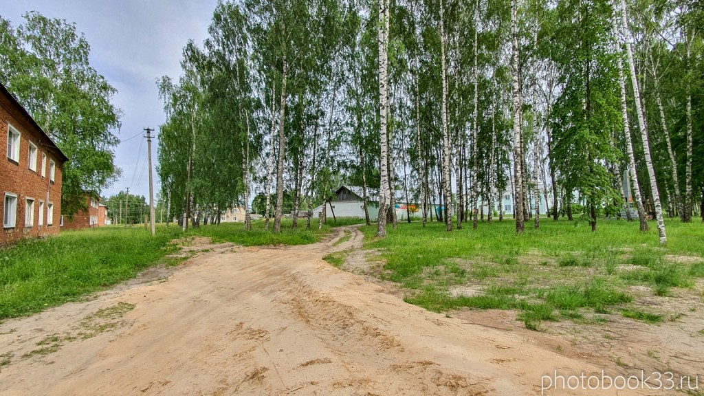 41 Сельский пейзаж деревни Тургенево