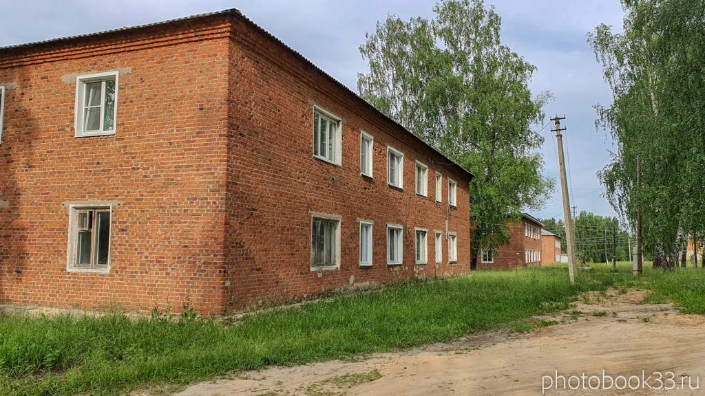 42 Двухэтажные дома в деревне Тургенево Меленковского района