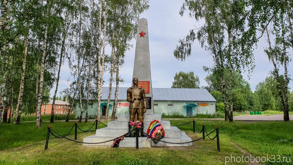 45 Памятник солдату в деревне Тургево (Великая Отечественная война)
