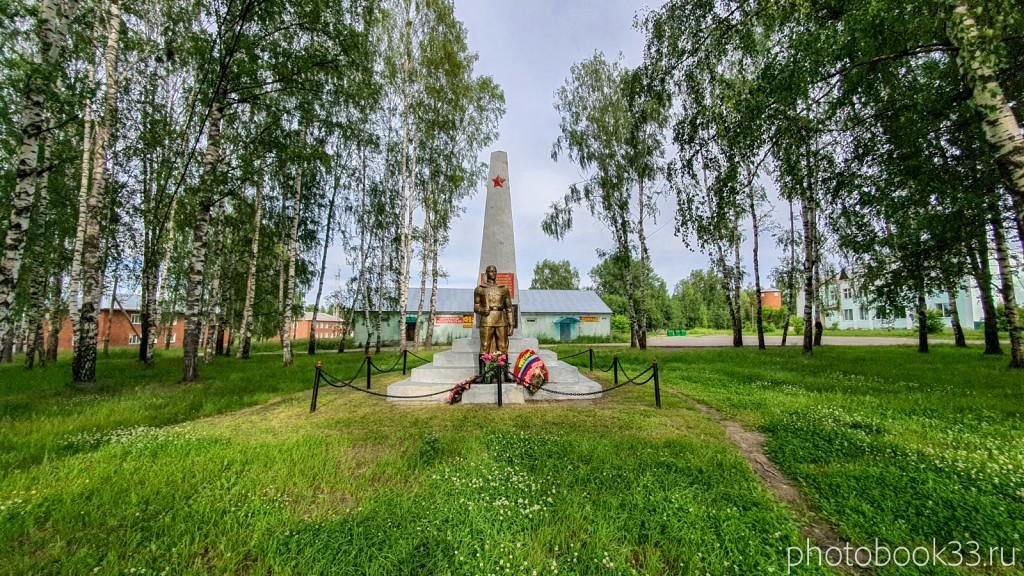 49 Памятник погибшим землякам в годы Великой Отечественной войны в 1941-1945 г.г