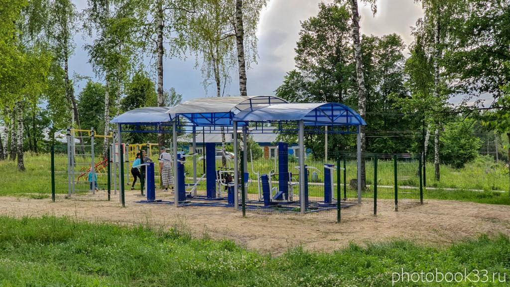 54 Тренажеры в деревне Тургенево Меленковского района