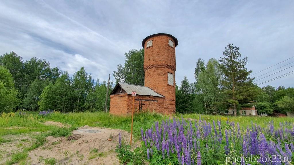 61 Старая водонапорная башня в Тургенево