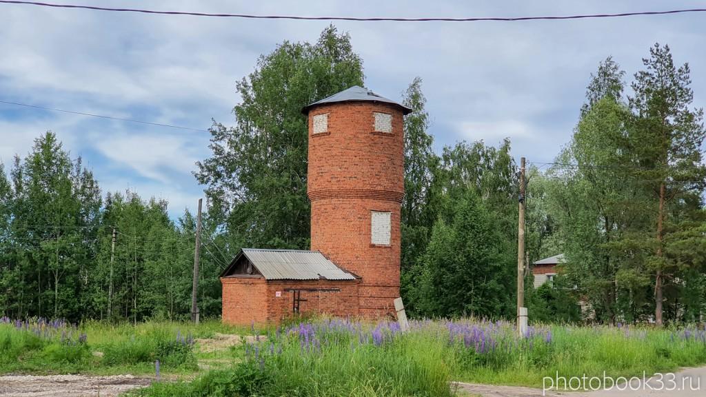 62 Старая водонапорная башня в Тургенево