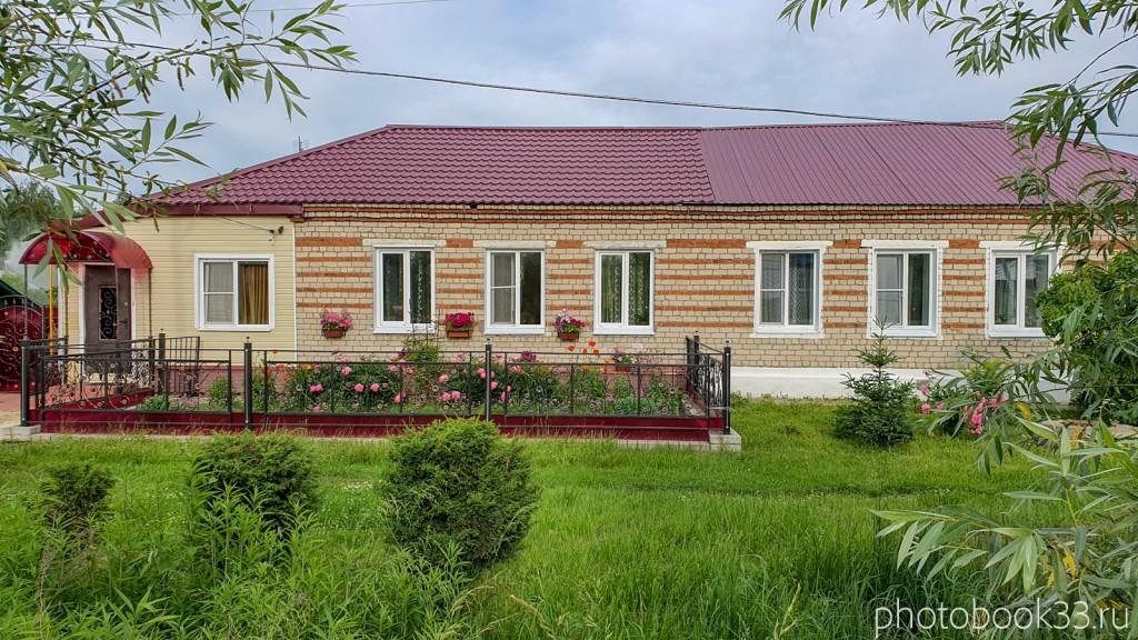 70 Кирпичный дом с садом в Тургенево