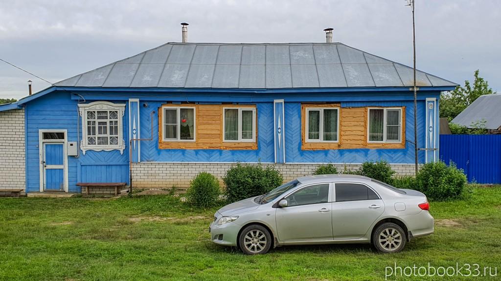 76 Дом с демонтированными наличниками в д. Тургенево