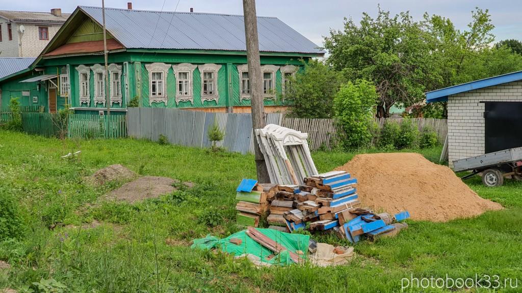 77 Дом с демонтированными наличниками в д. Тургенево