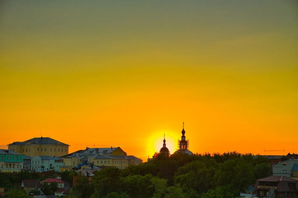 Тихим июльским вечером во Владимире 2020 02