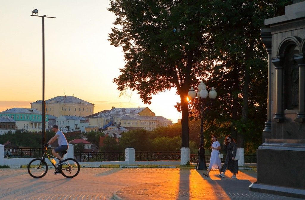 Тихим июльским вечером во Владимире 2020 06