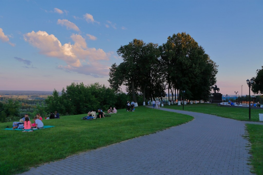 Тихим июльским вечером во Владимире 2020 07