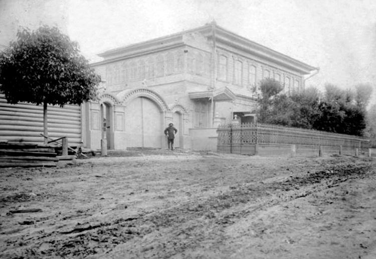 Усадьбный дом Осиповых в д. Усад. 1900–1910 гг.