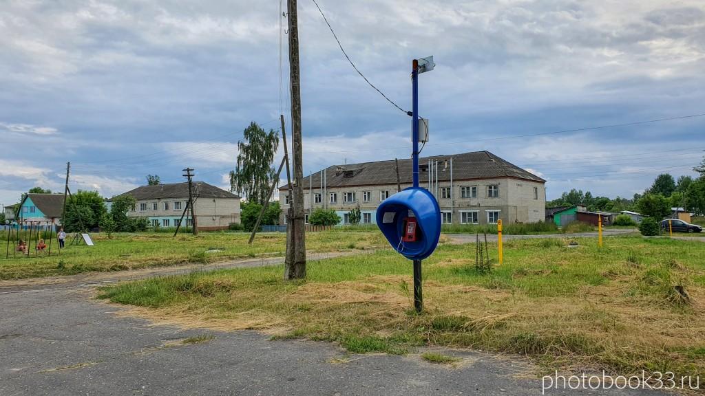06 Таксофон в селе Папулино, Меленковский район