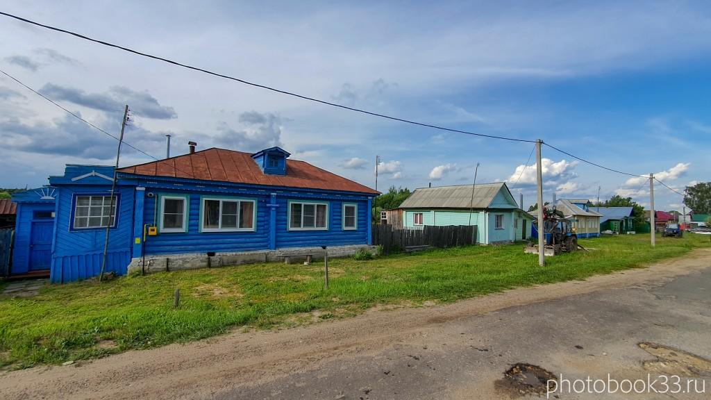 09 Улица в деревне Рождествено