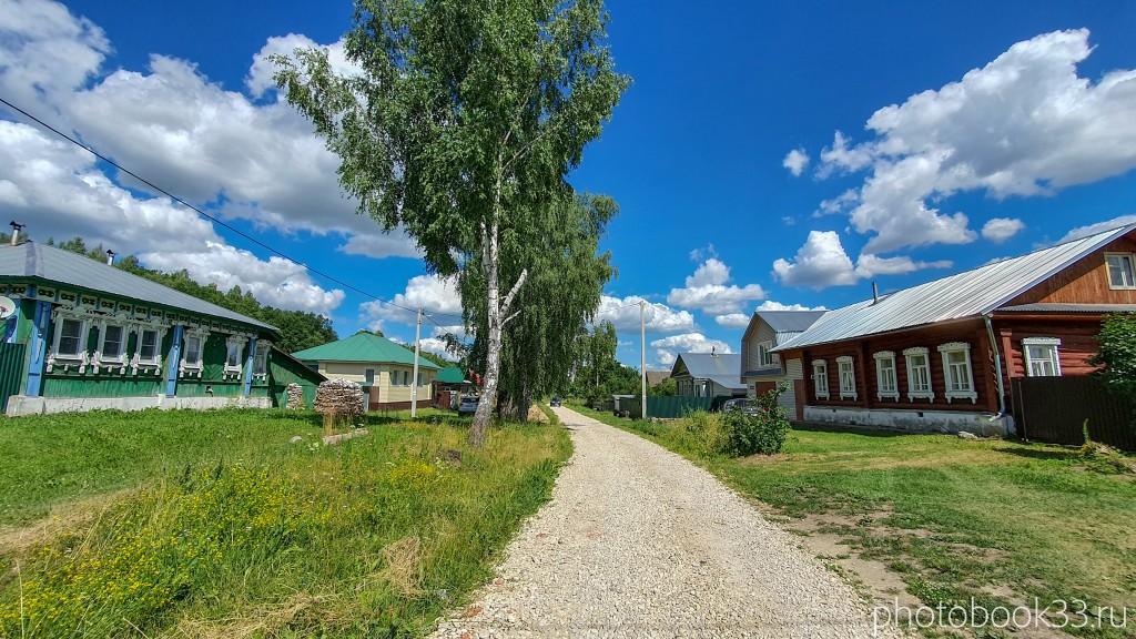 10 Улица в деревне Верхозерье, Меленковский район