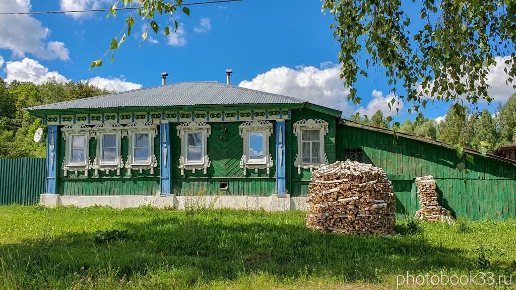 11 Деревянный дом в деревне Верхозерье