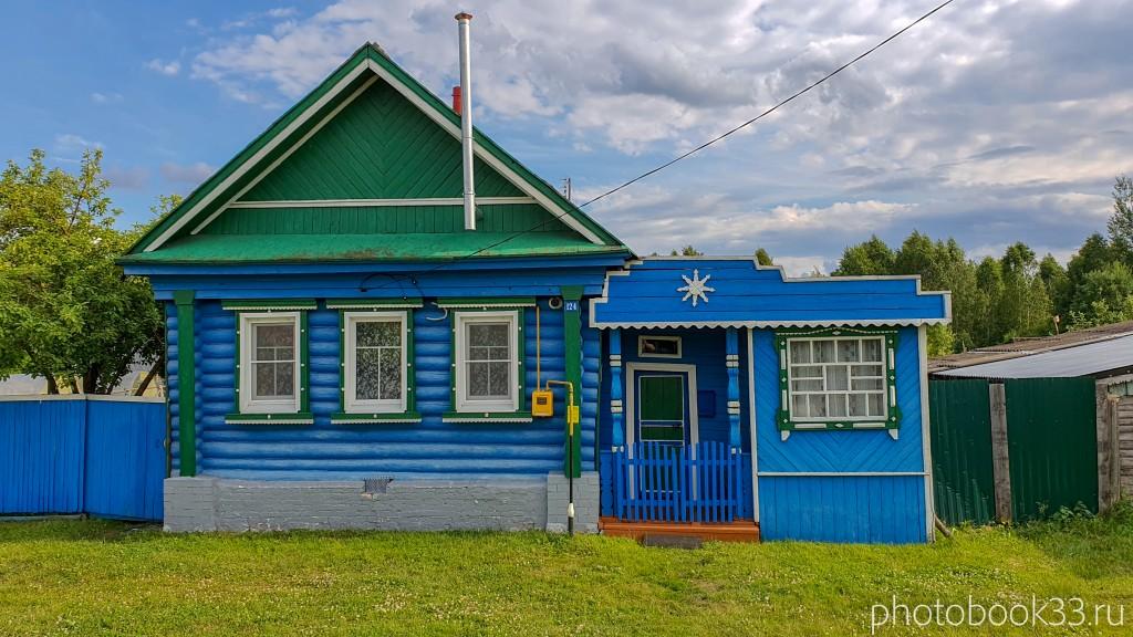 13 Деревянный домик в деревне Рождествено