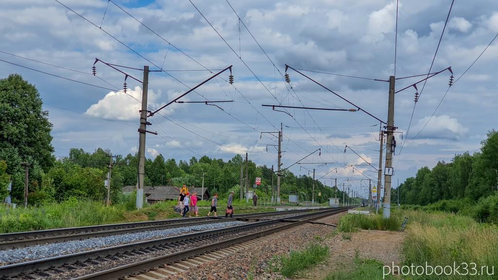 13 Станция в поселке Амосово, Меленковский район