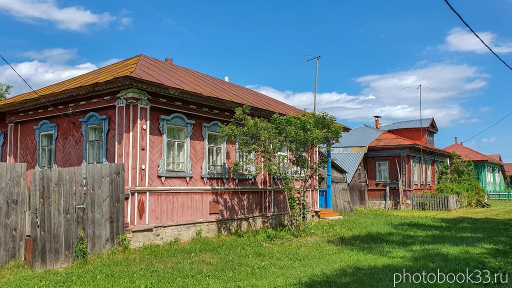 15 Деревянные дома села Урваново, Меленковский район