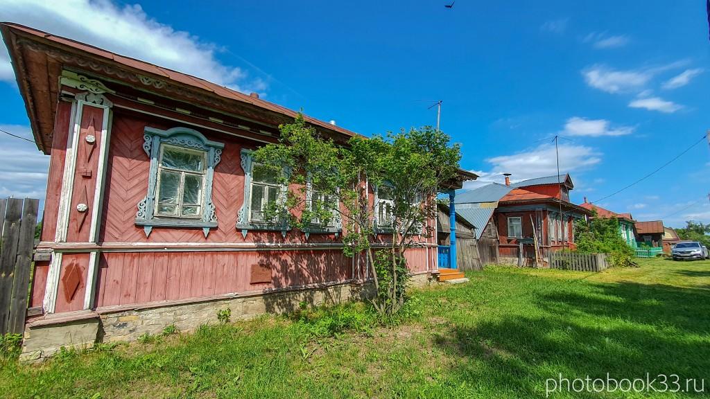 16 Деревянные дома села Урваново, Меленковский район