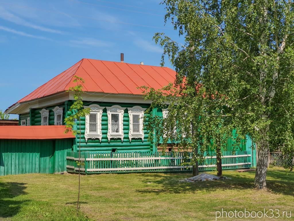 17 Деревянные дома в деревне Усад, Меленковский район