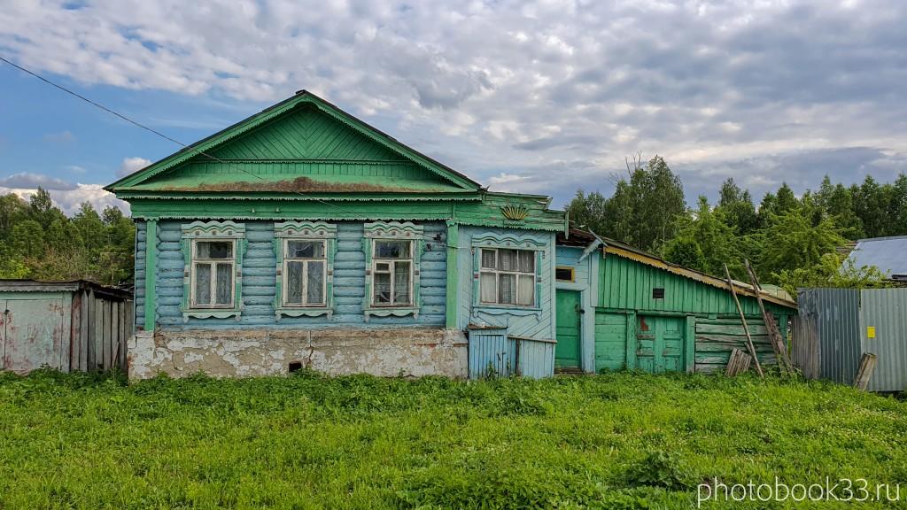 17 Деревянный домик в деревне Рождествено
