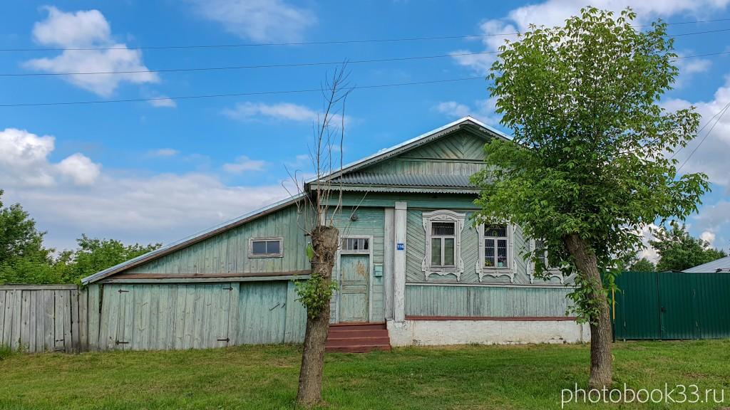 18 Деревянные дома в деревне Высоково, Меленковский район