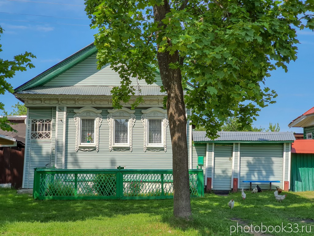 18 Деревянные дома в деревне Усад, Меленковский район