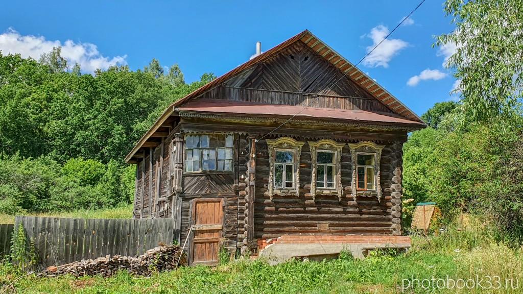 18 Деревянный дом в деревне Верхозерье