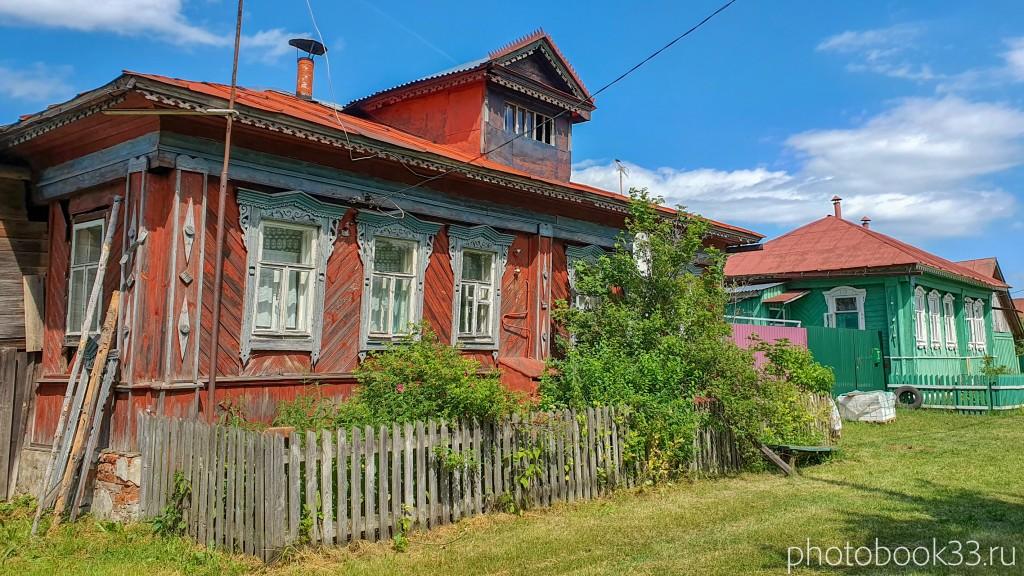 19 Деревянные дома села Урваново, Меленковский район