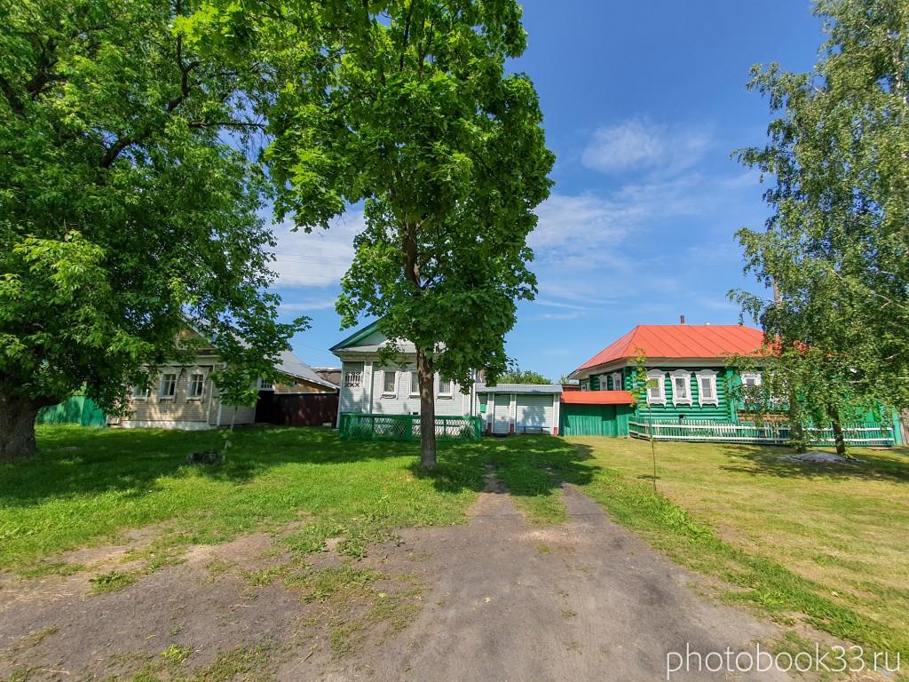 20 Деревянные дома в деревне Усад, Меленковский район