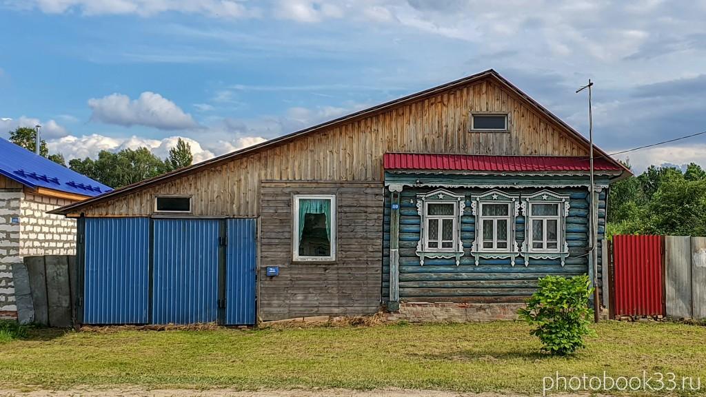 20 Деревянный домик в деревне Рождествено